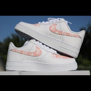 Air Force 1 custom pink